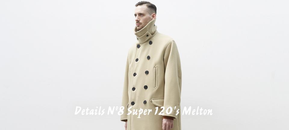 Details Nº8 Super 120's Melton